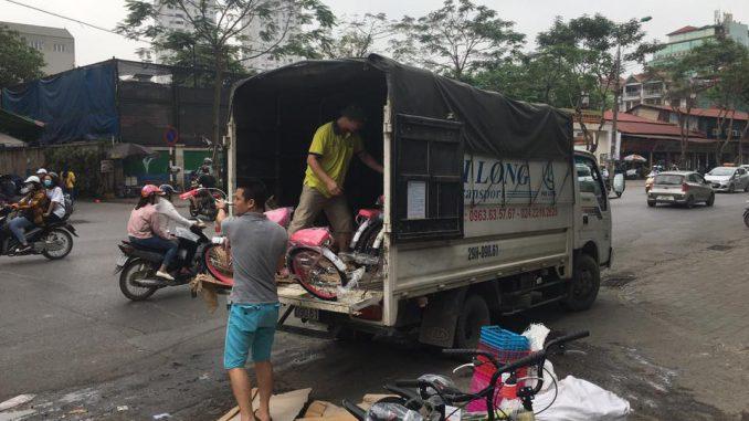 dịch vụ taxi tải giá rẻ tại phố Nguyễn Khắc Hiếu