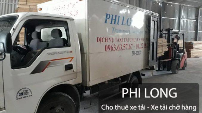 Cho thuê xe tải từ đường Yên Sở đi Vĩnh Phúc
