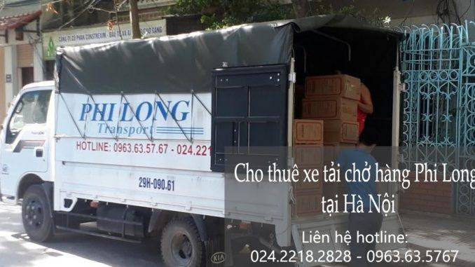Cho thuê xe tải tại đường Bồ Đề đi Thái Bình