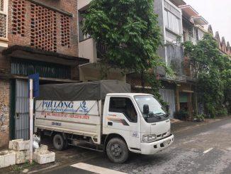 Xe tải chuyển nhà phố Lê Thạch đi Hòa Bình