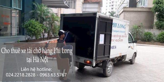 Xe tải chuyển nhà phố Lê Văn Linh đi Hòa Bình