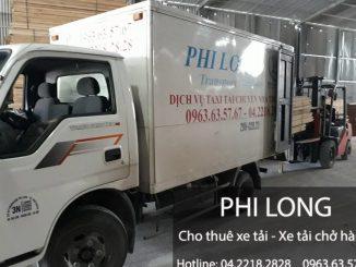 Cho thuê xe 5 tạ tại đường Nguyễn Khoái đi Ninh Bình