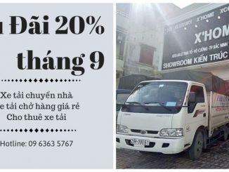 Xe tải chuyển nhà phố Thanh Bảo đi Thanh Hóa