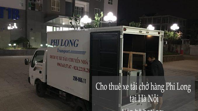 Xe tải chuyển nhà giá rẻ phố Hàng Bông đi Hòa Bình