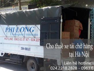Xe tải chuyển nhà giá rẻ tại đường Phúc Lợi đi Hà Nam