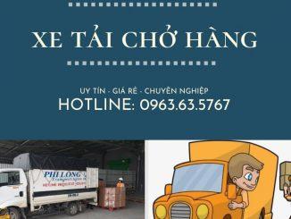 Xe tải chuyển nhà giá rẻ tại phố Kẻ Tạnh đi Hải Phòng