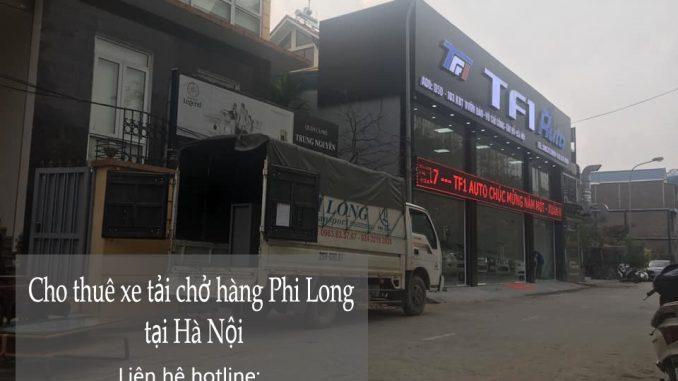 Xe tải chuyển nhà giá rẻ phố Lò Rèn đi Hòa Bình