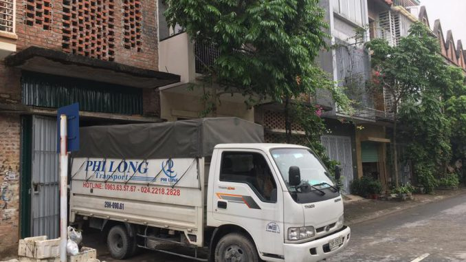 Xe tải vận chuyển giá rẻ phố Nguyễn Văn Tố đi Hòa Bình