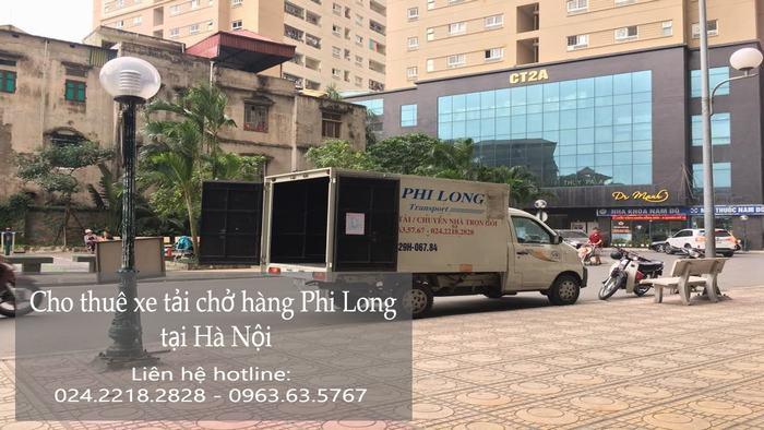 Xe tải chuyển nhà giá rẻ phố Tràng Tiền đi Hòa Bình