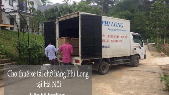 Xe tải chuyển nhà giá rẻ từ đường Hàm Nghi đi Hà Nam