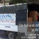 Xe tải chuyển nhà giá rẻ tại đường Thạch Bàn đi Hải Phòng