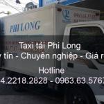 Xe tải chuyển nhà từ đường Nguyễn Xiển đi Cao Bằng