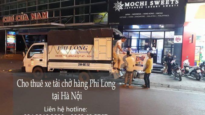 Taxi tải Phi Long nhận vận chuyển hàng hóa, chuyển nhà từ Hà Nôi đi vào Hà Tĩnh