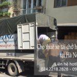 Xe tải chuyển nhà phố Hàng Hòm đi Quảng Ninh