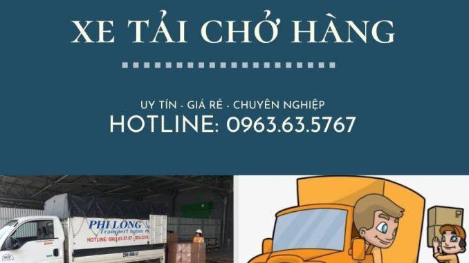 Xe tải chuyển nhà giá rẻ tại đường Kim Giang đi Hải Phòng