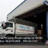 Cho thuê xe tải giá rẻ 1,25 tấn tại Hà Nội